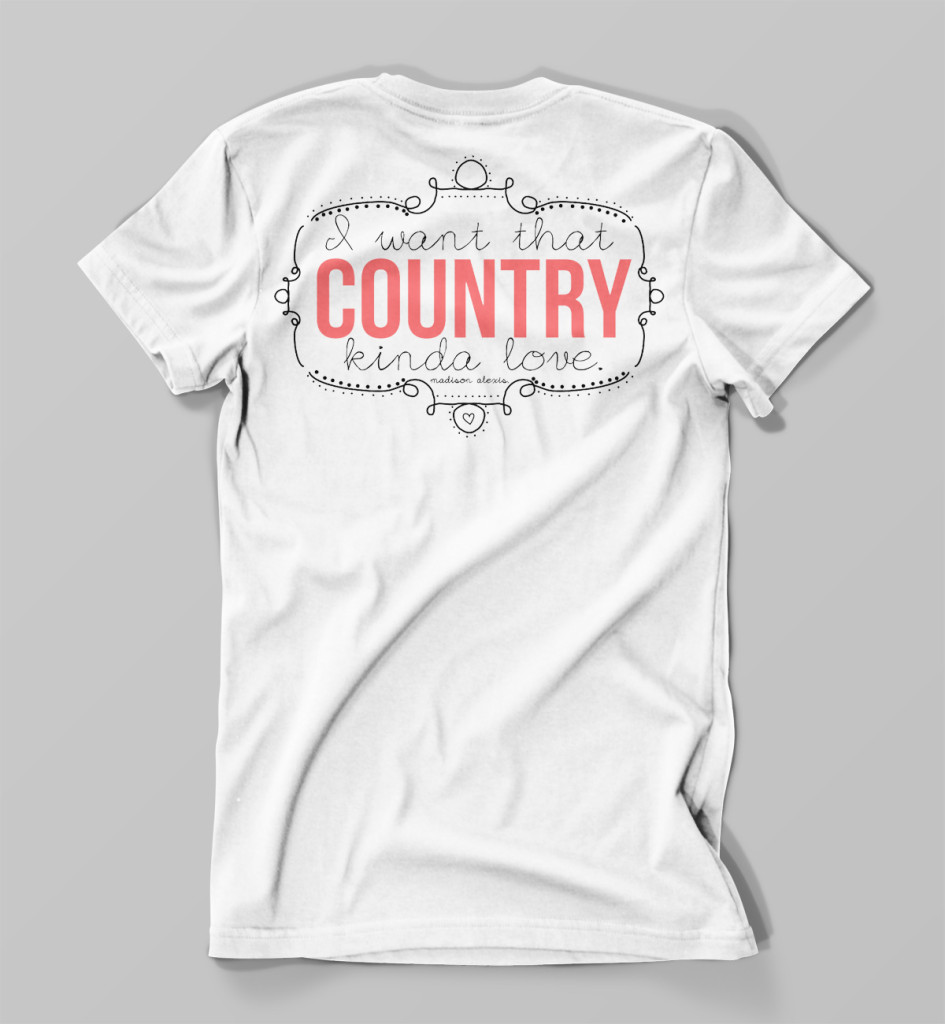 Country Kinda Love Pocket Tee